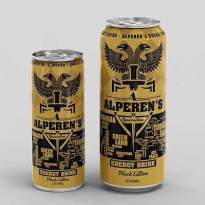 ALPEREN'S ENERGY DRINK - BLACK EDITION